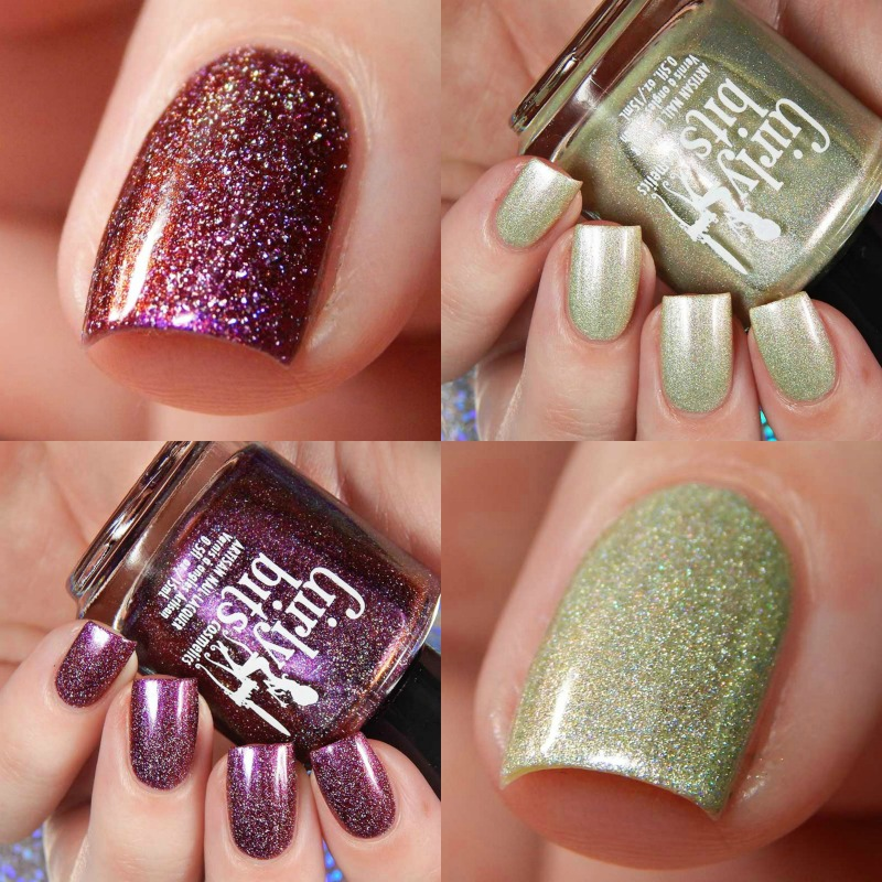 Girly Bits June 2017 Color Of The Month Duo Swatches and Review