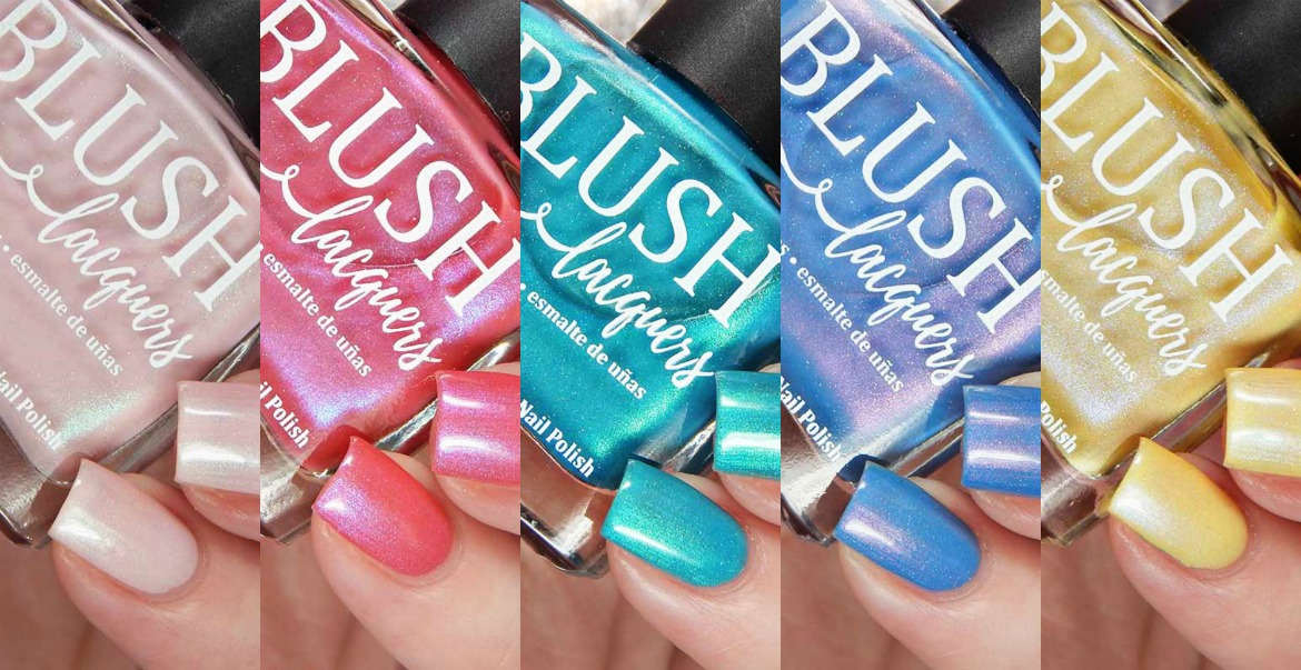 BLUSH Lacquers Beach Hunny Collection