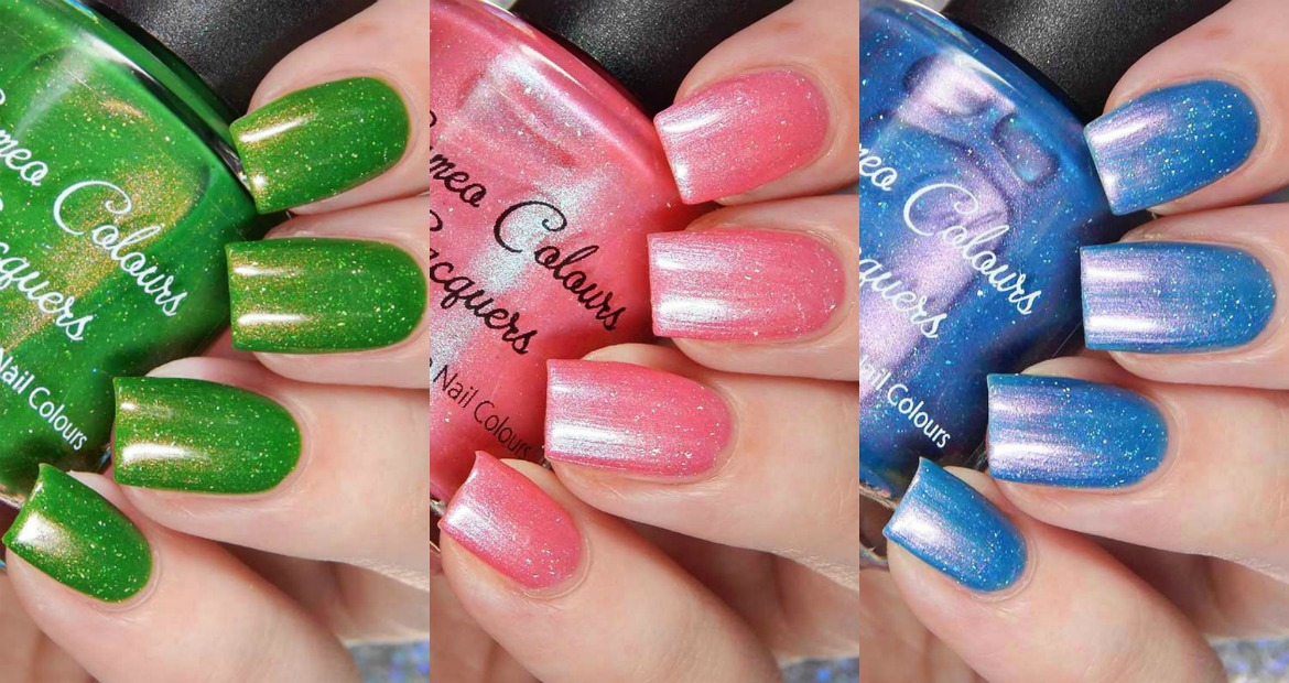 Cameo Colours Lacquers Bloomin' Summer Trio