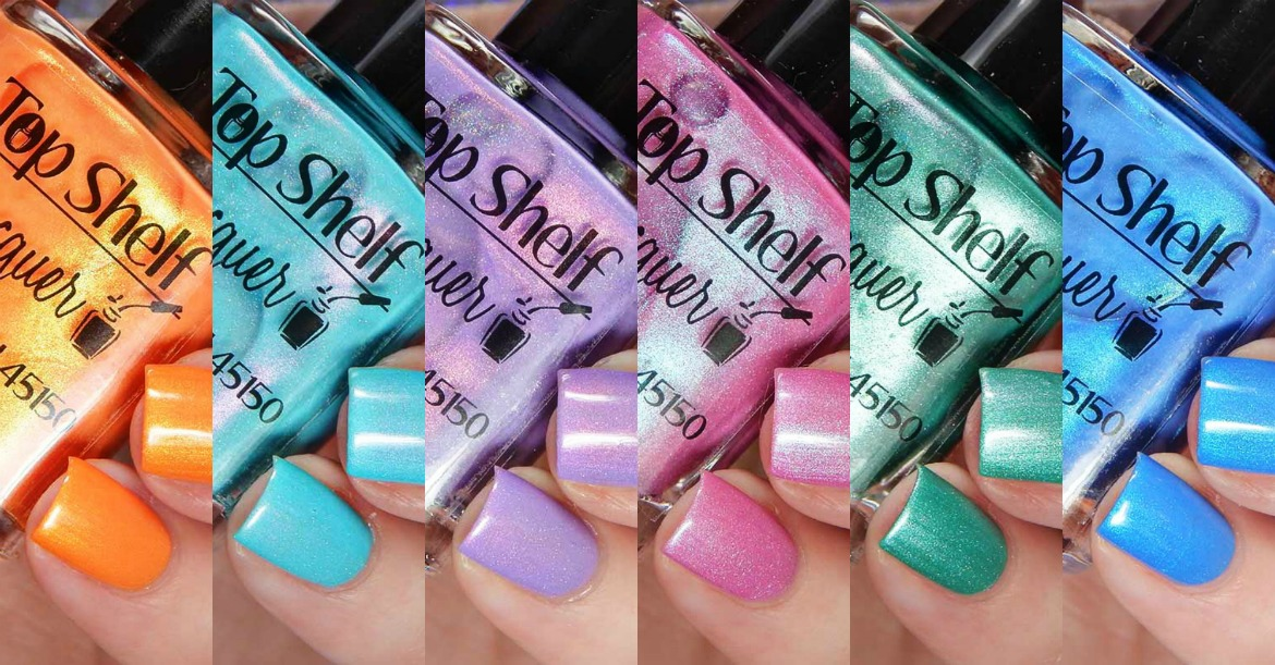 Top Shelf Lacquer Alcohol Musings Collection
