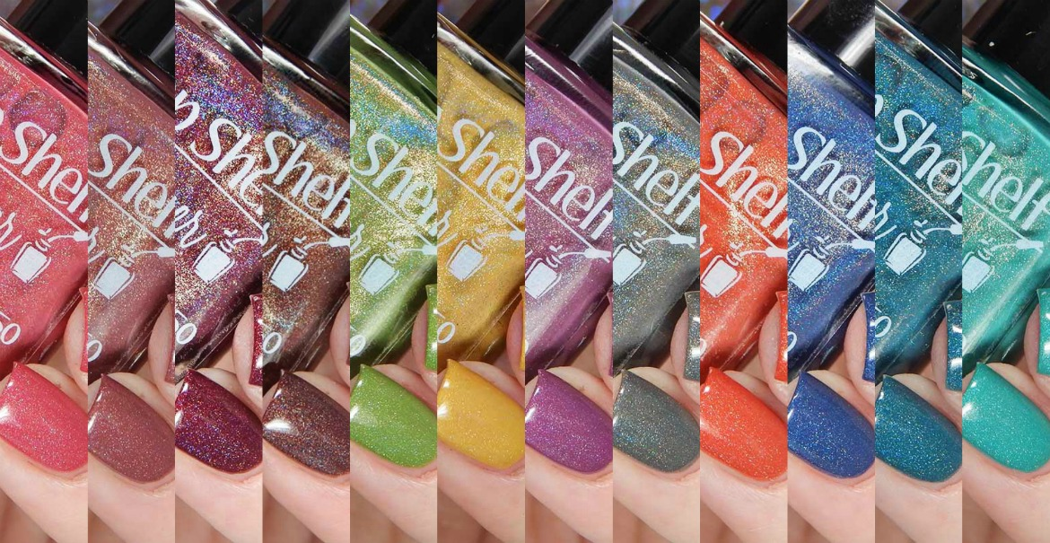 Top Shelf Lacquer Drunken Creme Fall Holos Collection