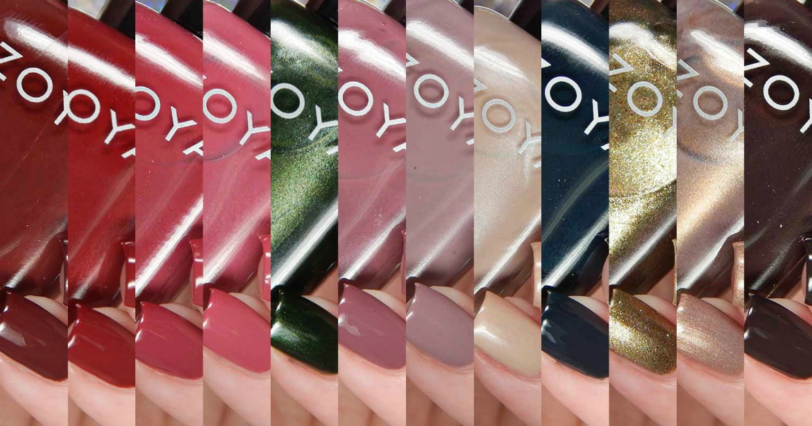 Zoya Fall 2017 Sophisticates Collection
