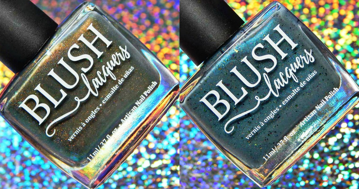 BLUSH Lacquers Snow Squall & Arctic Chill