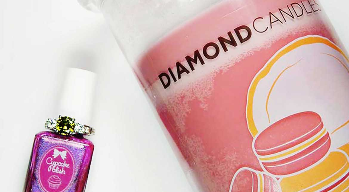 Celebrating #ManiMonday with Diamond Candles & Cupcake Polish