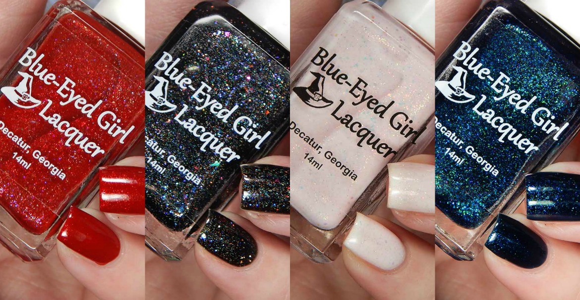 Blue Eyed Girl Lacquer Something Is Coming Collection