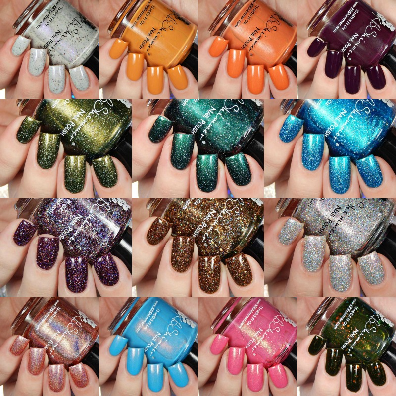 KBShimmer Fall 2017 Blogger Collaboration Collection