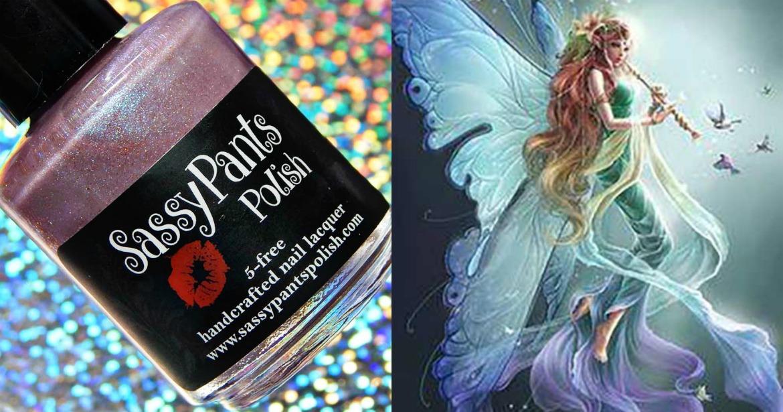 Sassy Pants Polish Fairy Spell