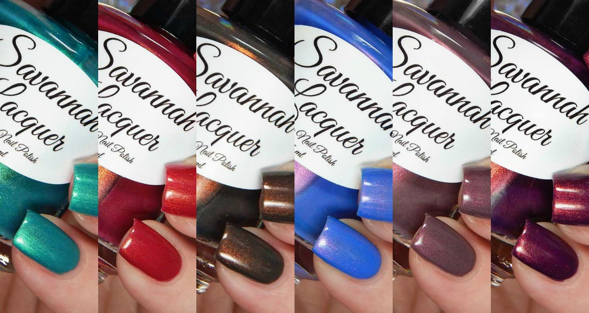 Savannah Lacquer The Night Out Collection
