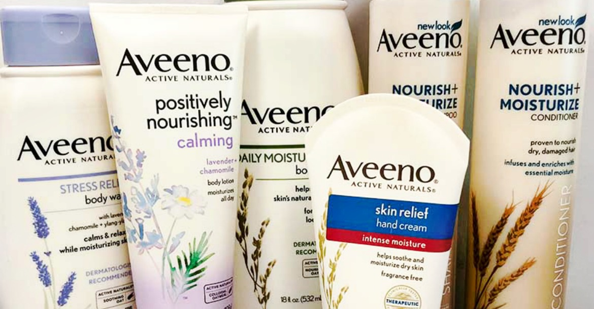 Morning & Night Shower Routines with Aveeno