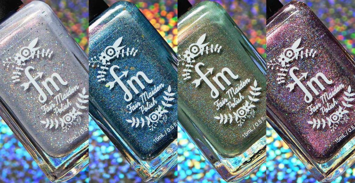Fair Maiden Polish Tipsy Christmas Collection