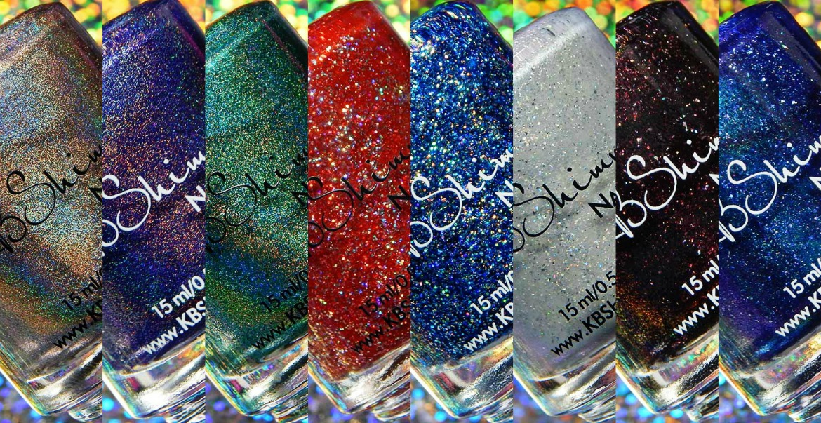 KBShimmer Holo-Day 2017 Collection
