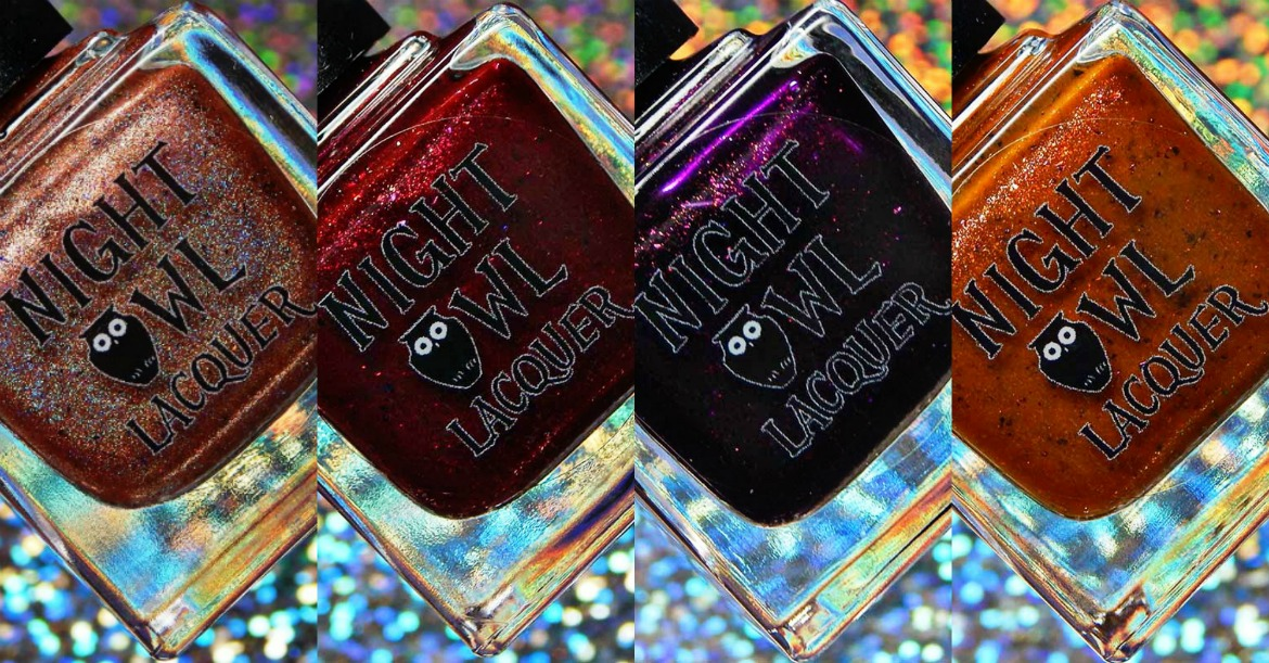 Night Owl Lacquer Fall Feels Collection