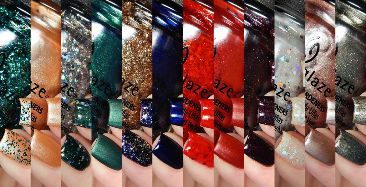 China Glaze The Glam Finale Collection