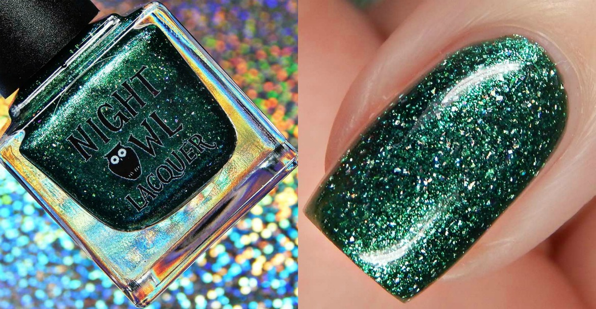 Night Owl Lacquer Sorceress Of The Sea