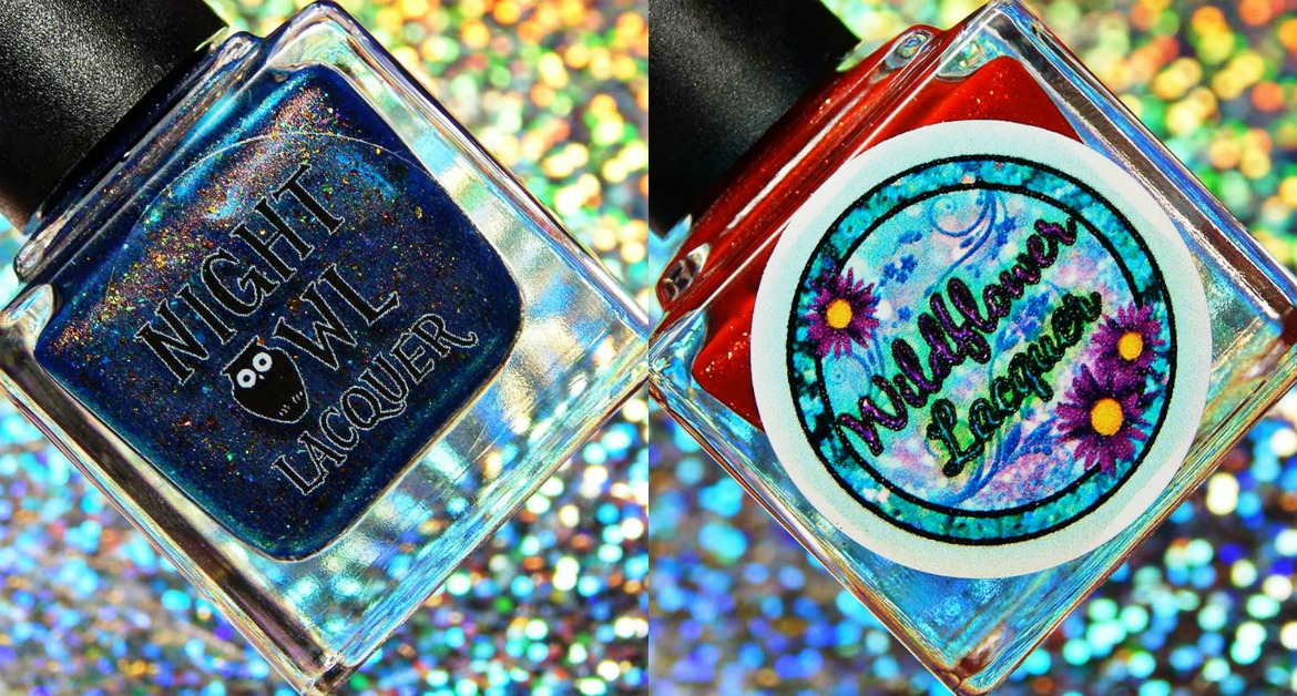 Anne of Green Gables Duo with Night Owl Lacquer & Wildflower Lacquer