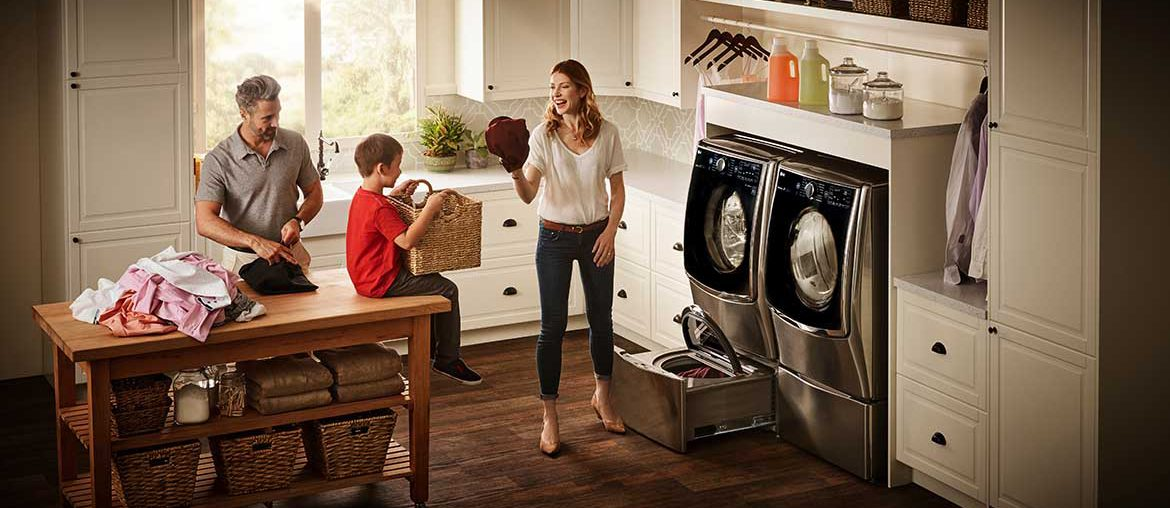 LG Twin Wash Laundry System From Best Buy