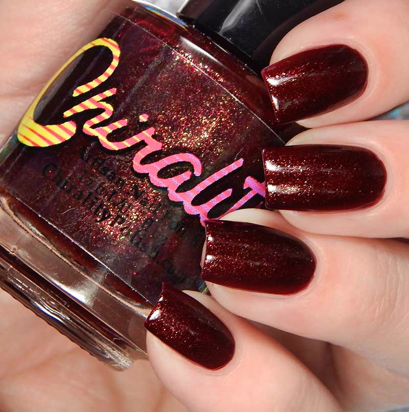 Chirality Nail Polish Vicious Lips Collection Swatches And Review