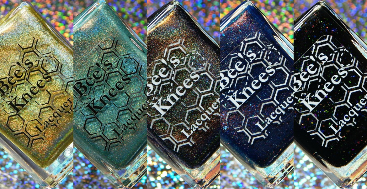 Bee's Knees Lacquer Assassin's Creed Origins Trio & March COTM Duo