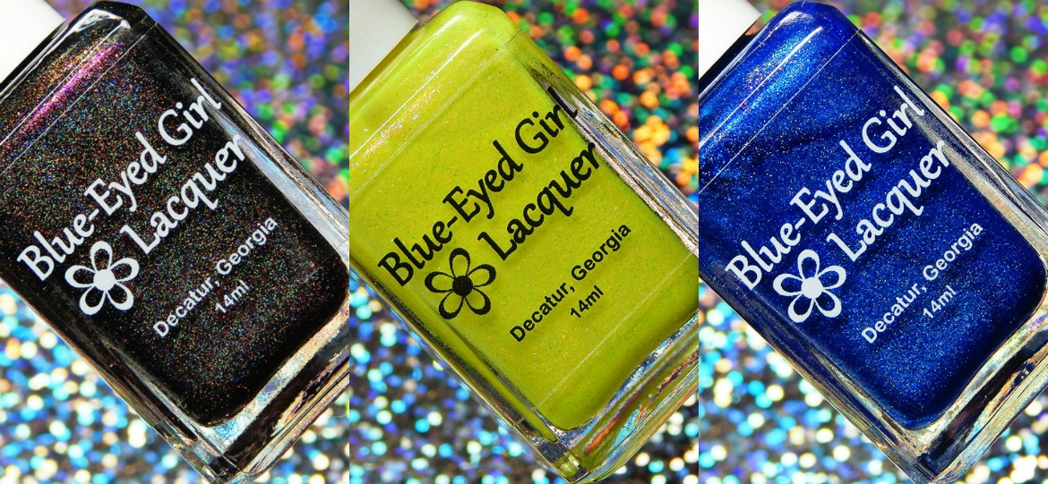 Blue Eyed Girl Lacquer How Sweet It Is, Fabulous Movie Palace & East ATL Rainbow