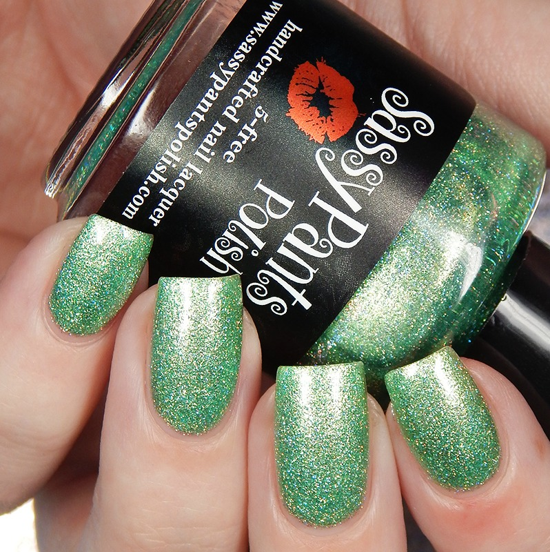 Sassy Pants Polish St Patrick\'s Day 2018 Duo Swatches and Review