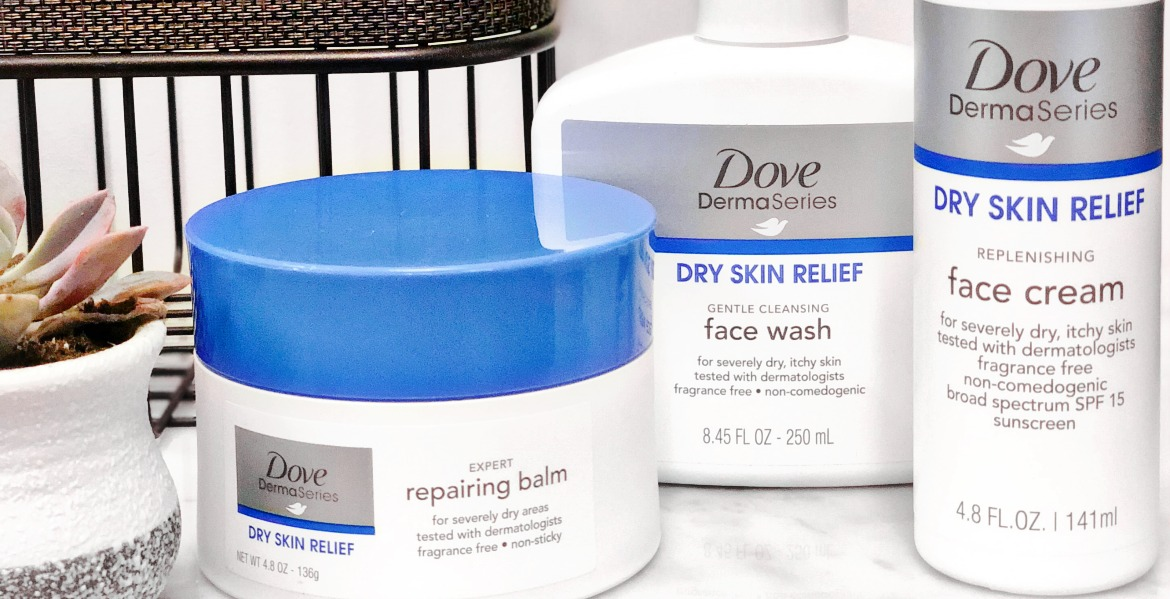 Soothe Your Dry Skin with Dove DermaSeries