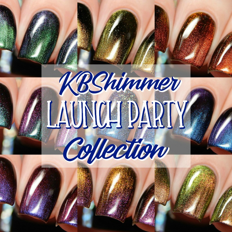 KBShimmer Launch Party Collection Swatches and Review