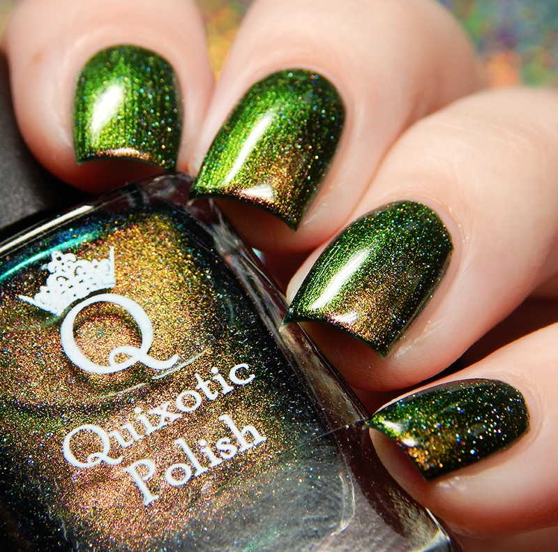 Quixotic Polish Lucky Kelly March Color of the Month Swatch and Review