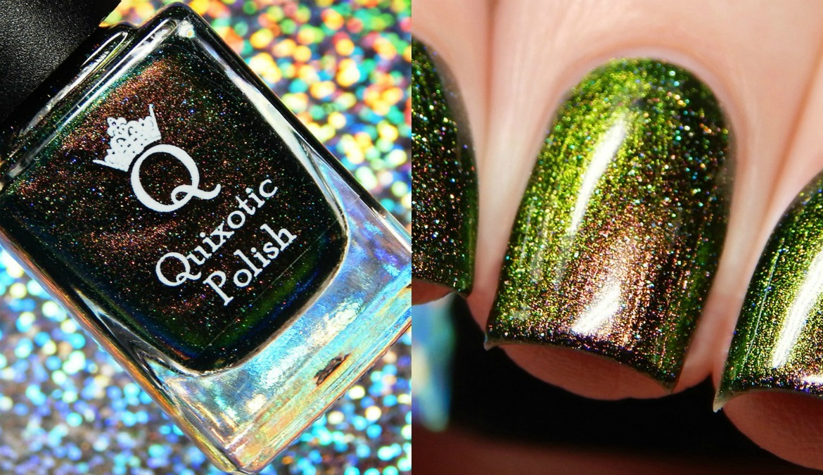 Quixotic Polish Lucky Kelly March Color of the Month
