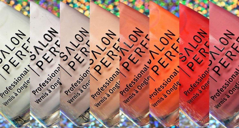 Salon Perfect Spring 2018 Peaches & Creme Collection
