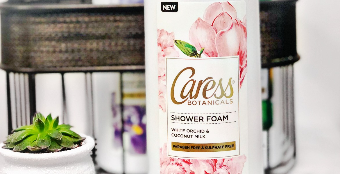 Lose The Loofah with Caress White Orchid & Coconut Milk Shower Foam