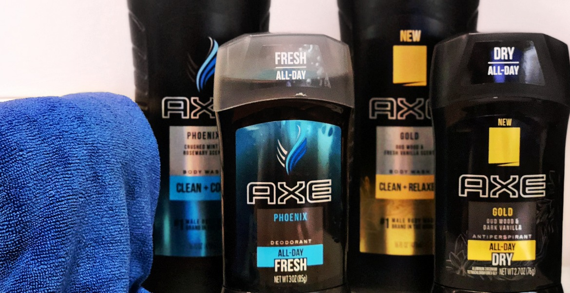 How My Son Expresses His Personality With AXE