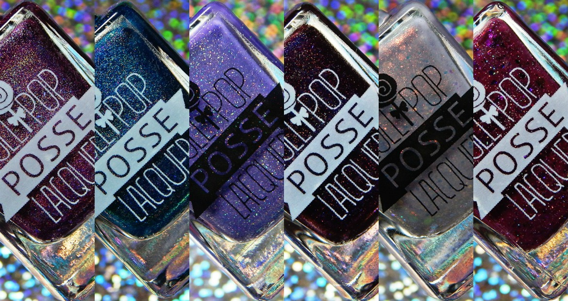 Lollipop Posse Lacquer The Sylvia Plath Quad & May 2018 Year of the Tarot