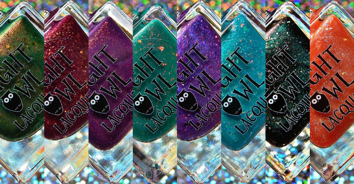 Night Owl Lacquer Parks & Rec Collection