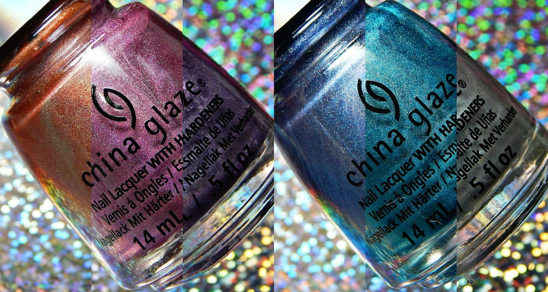 China Glaze OMG Flashback Collection