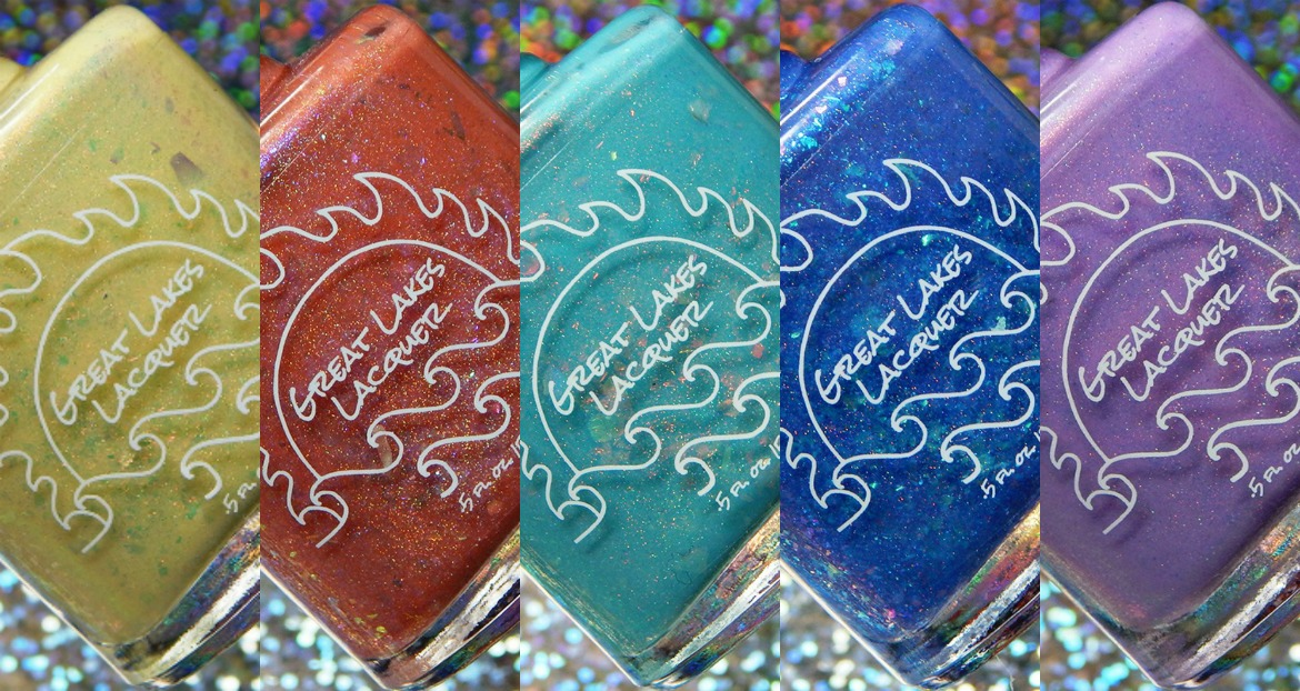 Great Lakes Lacquer Water Colors Collection