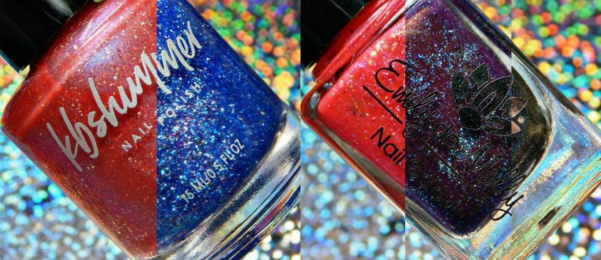 Color4Nails July 2018 Group Exclusives | KBShimmer & Emily de Molly