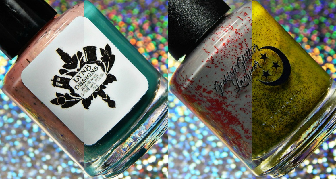Geekish Glitter Lacquer & LynB Designs Ant-Man Collaboration