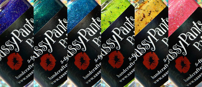 Sassy Pants Polish Summer Paradise Collection