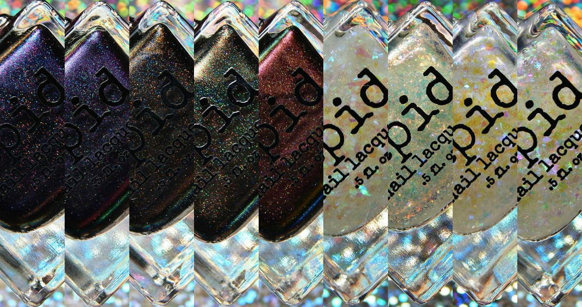 Vapid Lacquer Star Showers Collection for Vapibirthday