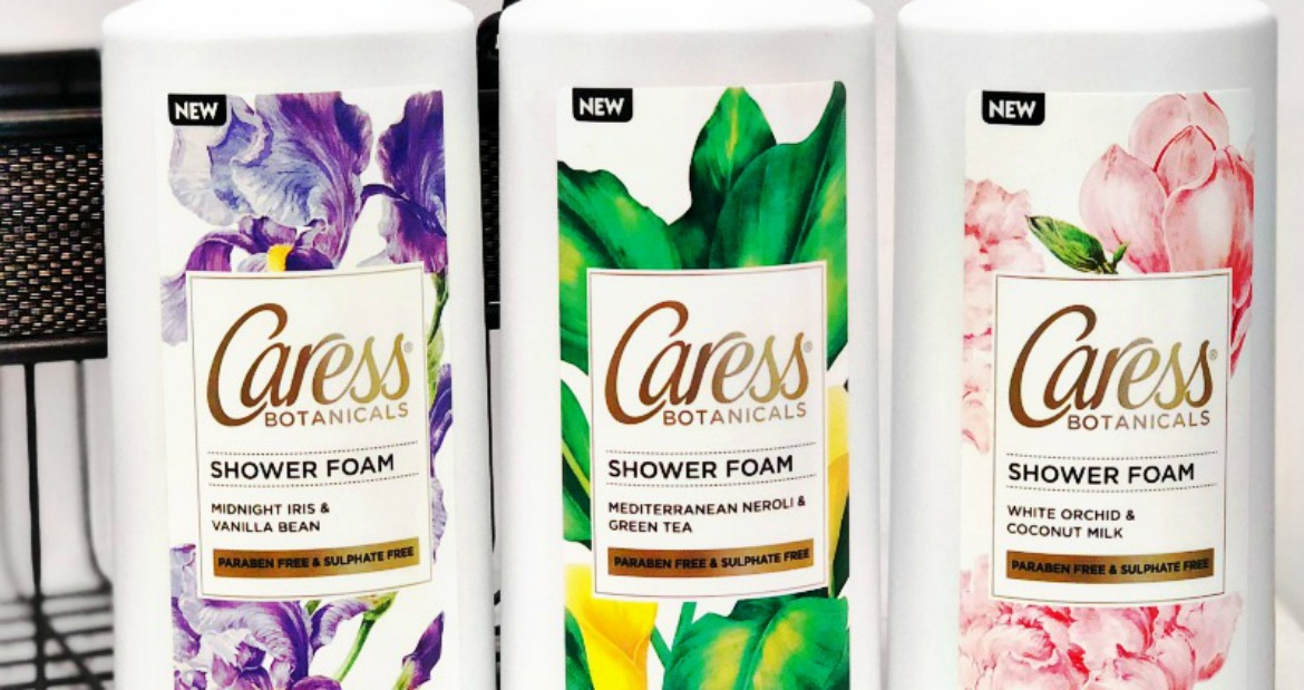 Pump Up Your Mornings With Caress Shower Foam