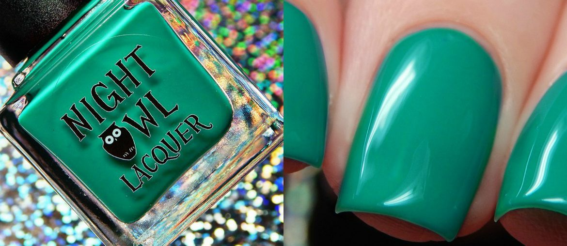 Night Owl Lacquer August Creme Of The Month | Wild Summer Winds