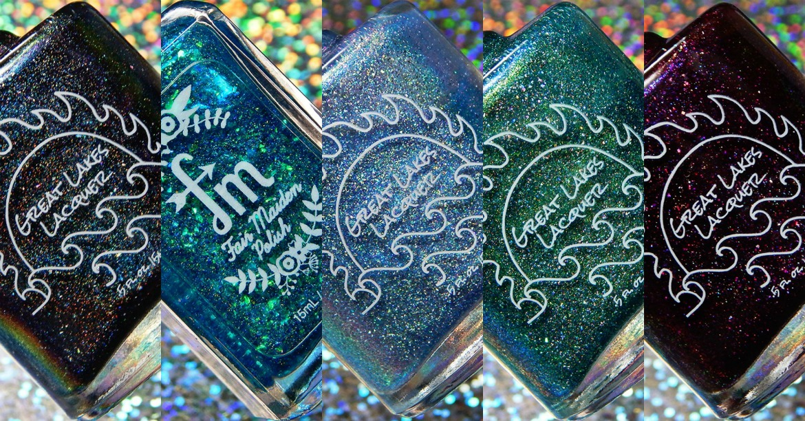 Great Lakes Lacquer Polish Con & Duo With Fair Maiden Polish