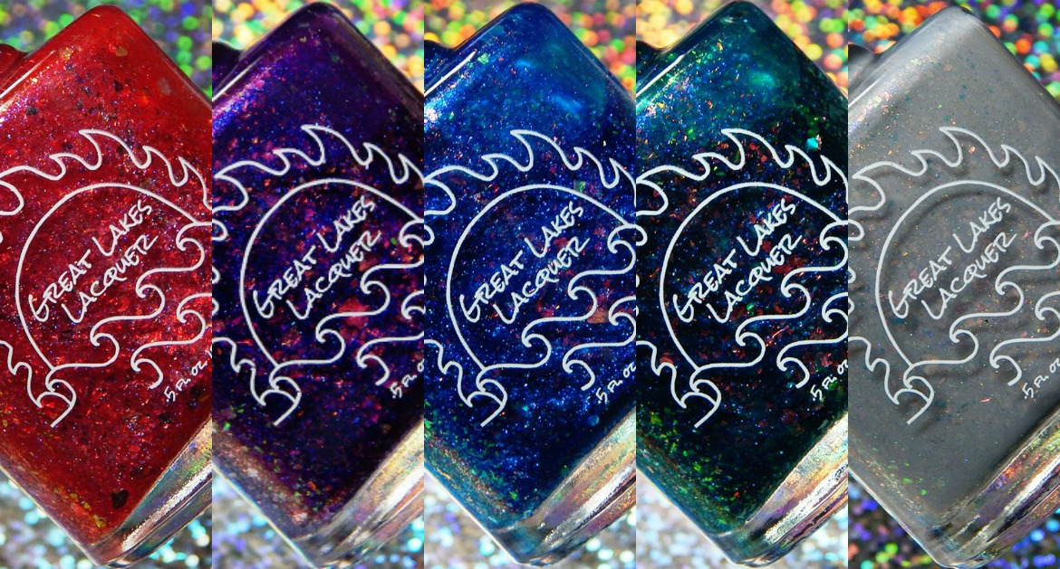 Great Lakes Lacquer Glass Resurrected Collection