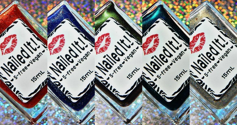 Nailed It! Nail Polish Supernatural Collection