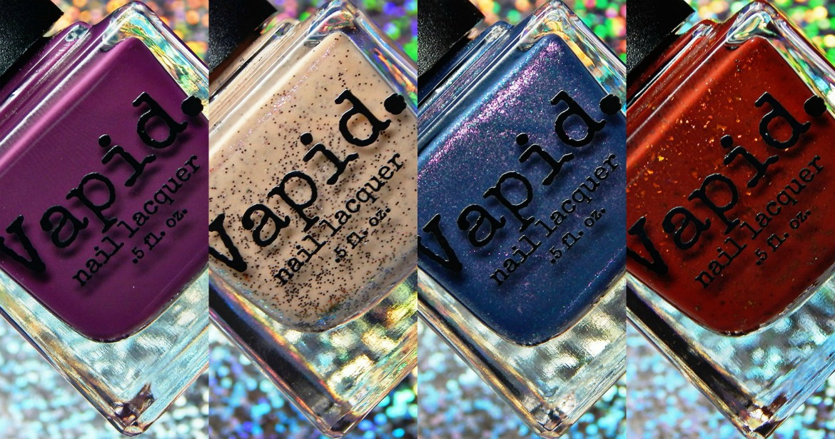 Vapid Lacquer Late October 2018 Releases