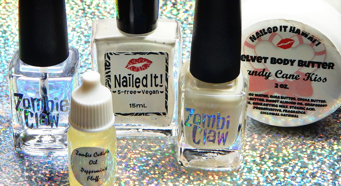 Zombie Claw & Nailed It Nail Polish Winter Care Kit