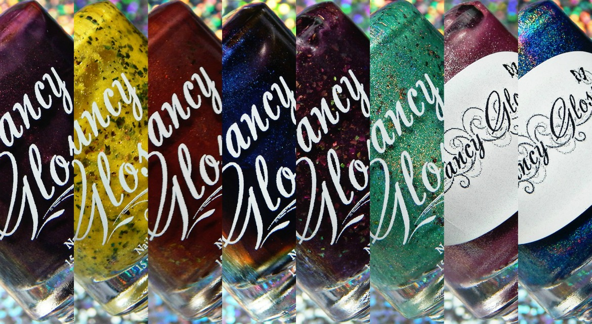 Fancy Gloss Assorted Swatches