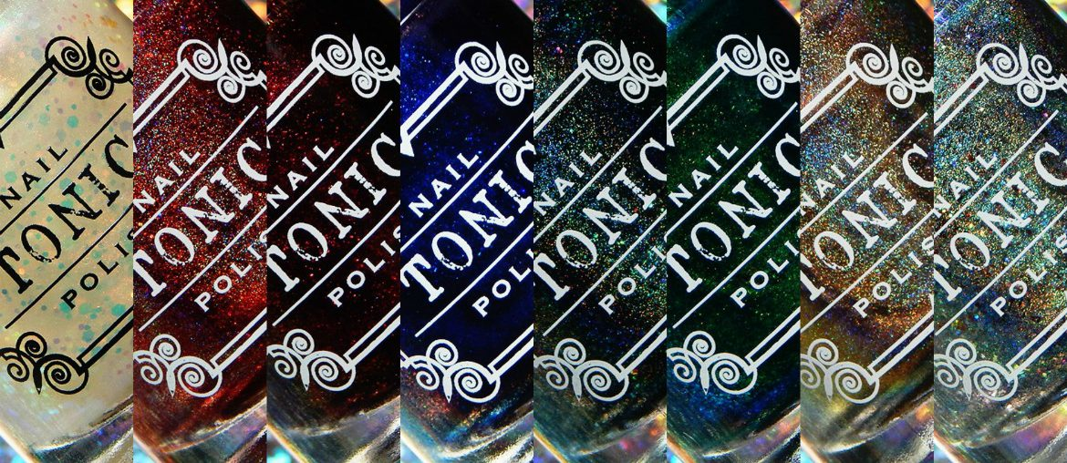 Tonic Nail Polish Holiday 2018 Collection