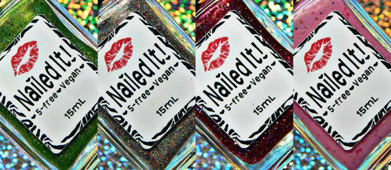 Nailed It Nail Polish Resting Grinch Face Collection