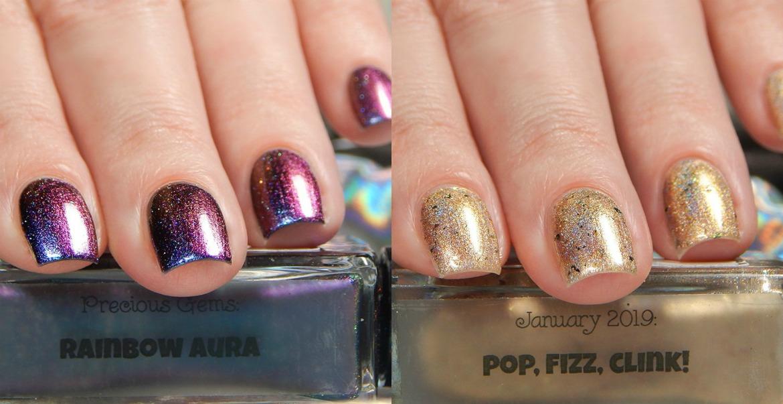 Nailed It! Nail Polish   Rainbow Aura & Pop, Fizz, Clink